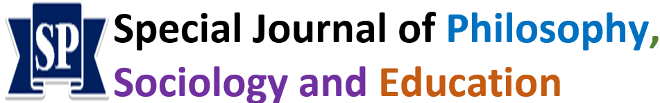 Special Journal of Philosophy, Sociology and Education - PSE